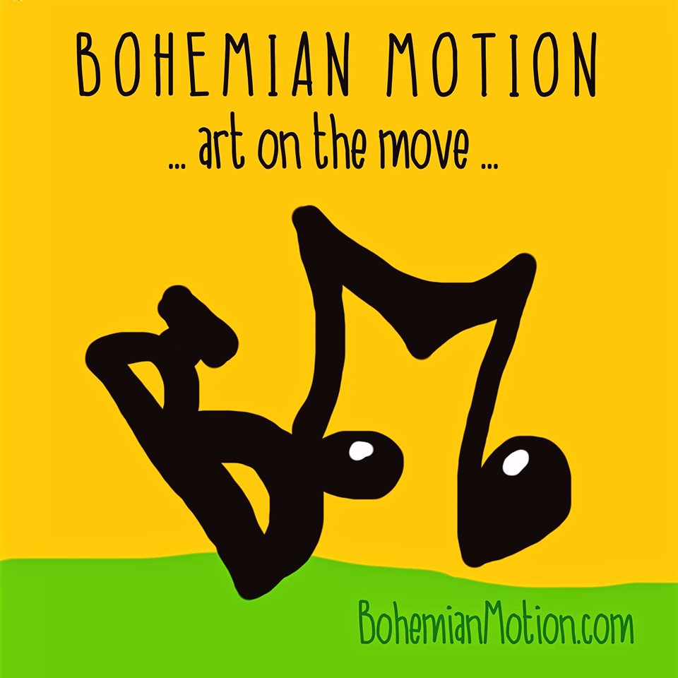 Bohemian Motion... art on the move ...cultural non profit organisation Amsterdam